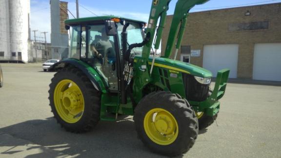 2017 John Deere 5085m Mfwd Tractors Ebay