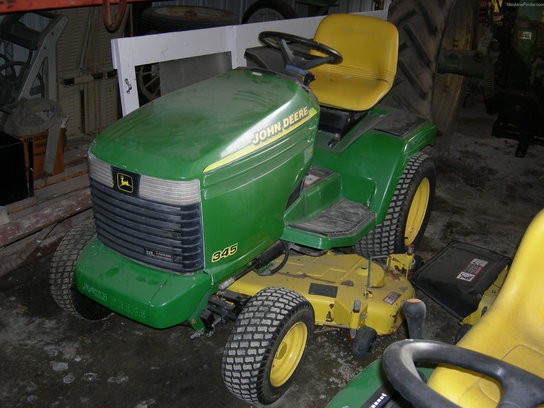 1997 John Deere 345 w/ 48 In. Mower