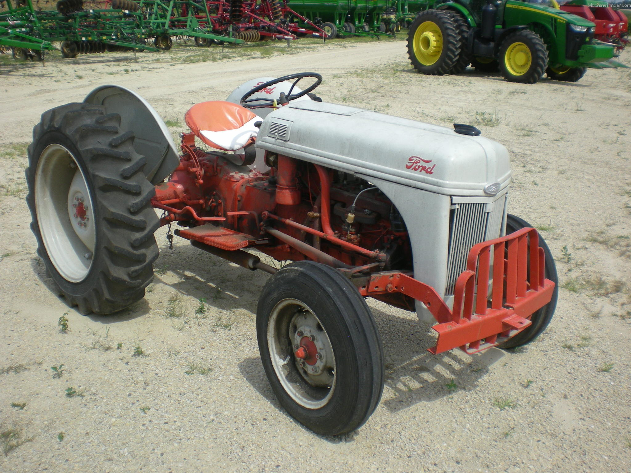 Ford 8n Tractor Dimensions : Ford n specs autos post