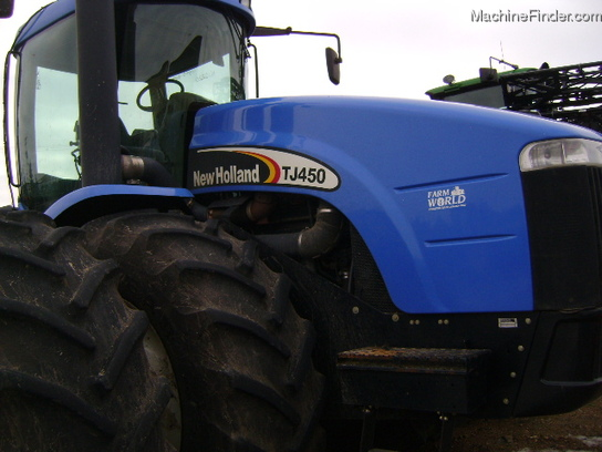 2003 New Holland TJ450