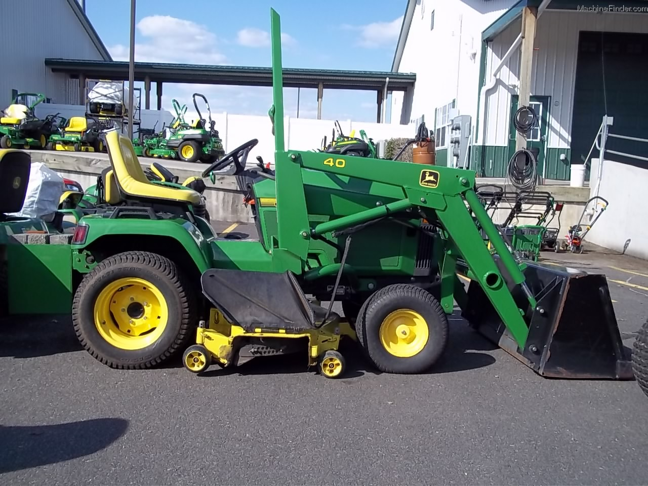 John Deere 425 Replacement Parts : John deere lawn garden and commercial mowing