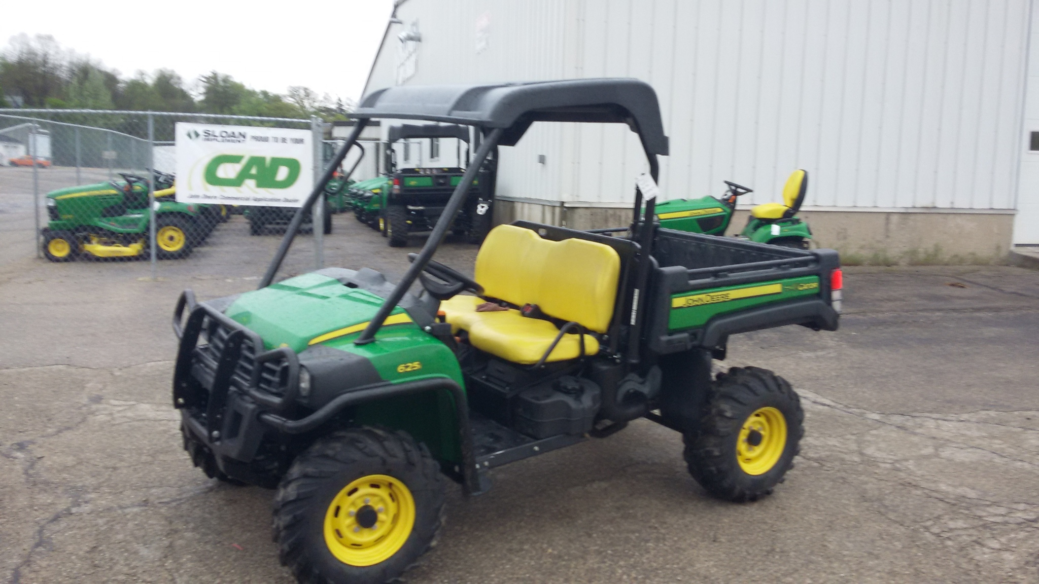 john deere xuv 625i green atvs gators for sale 59042. Black Bedroom Furniture Sets. Home Design Ideas