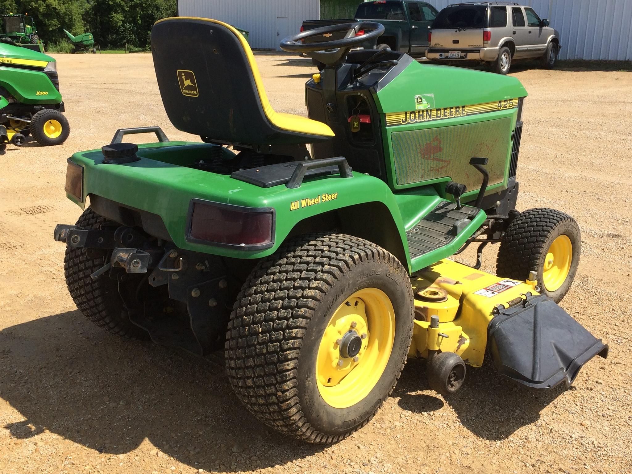 John Deere 425 Lawn Garden Tractors For Sale 59928