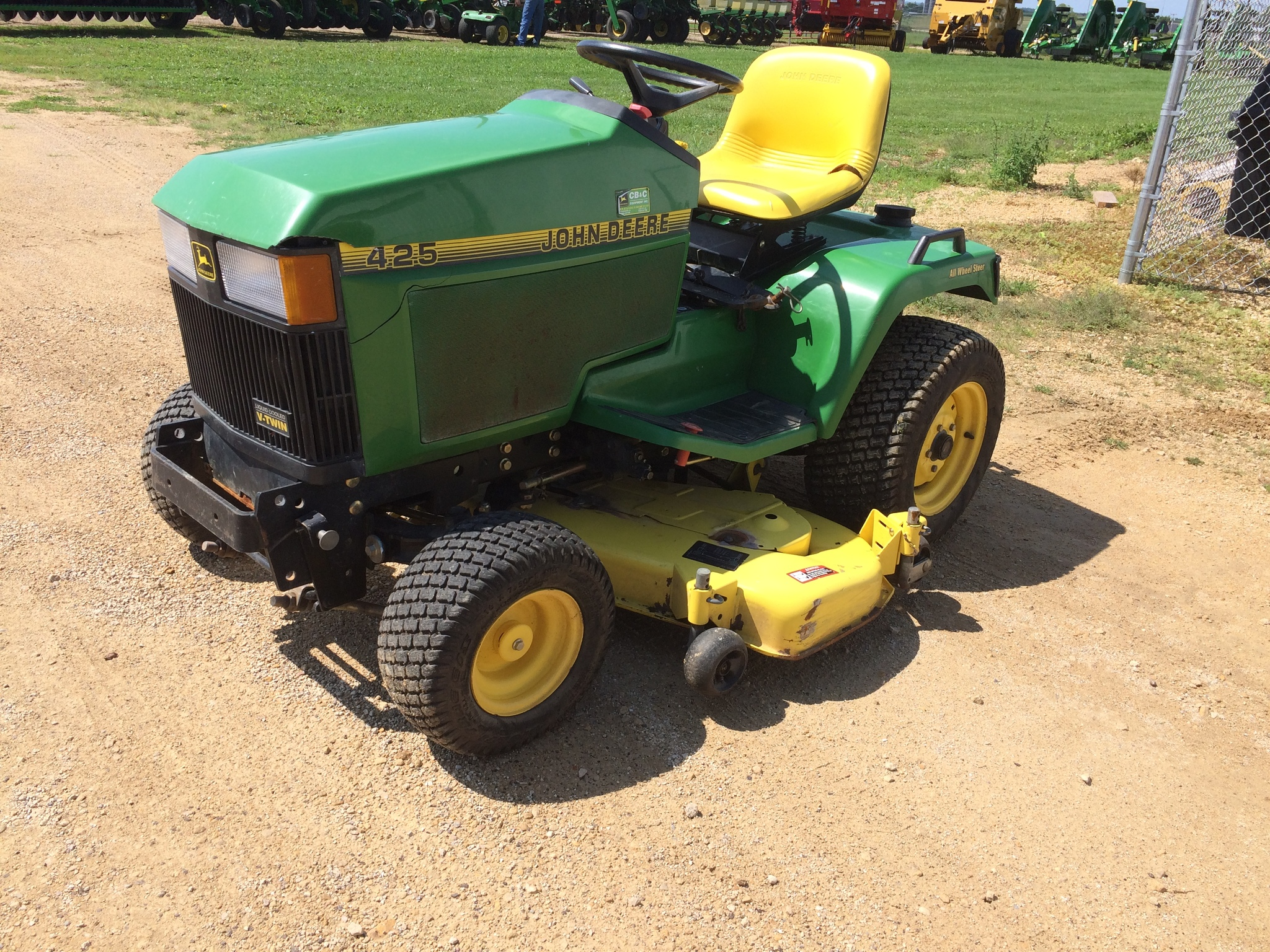 John Deere 425 Tractor Parts : John deere lawn garden tractors for sale