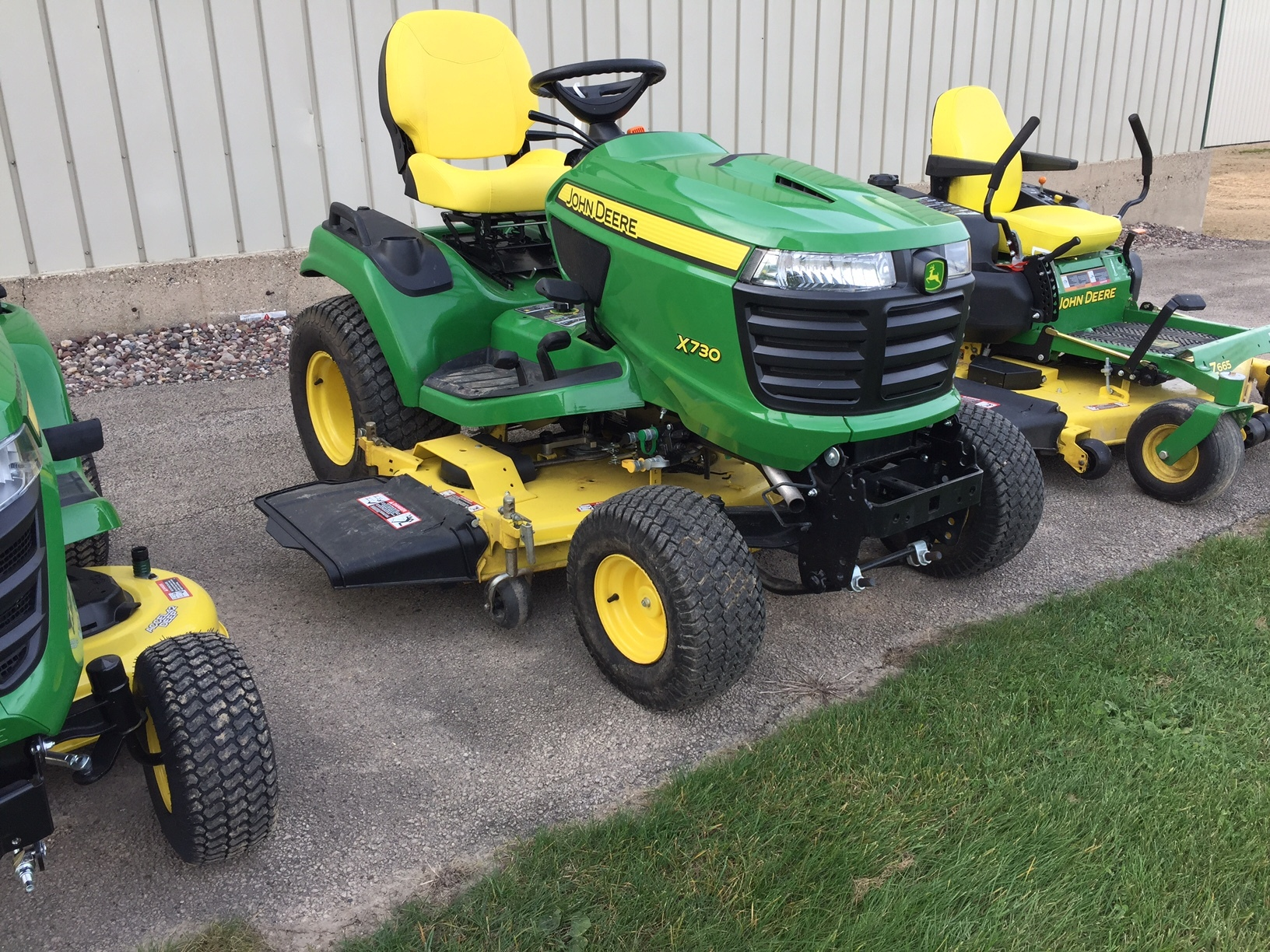 John deere x730 lawn garden tractors for sale 65503 for Lawn and garden implements
