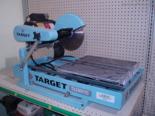 Other TARGET MASONARY ELECTRIC TILE SAW BLADE AVAIL FOR RENT