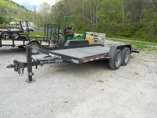 2012 Other QUALITY TRAILER 16ft TILT EQUIPMENT HAULER