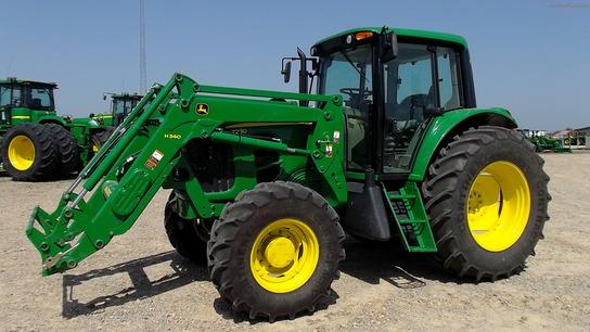 2012 John Deere 7230 Tractors Row Crop 100hp John