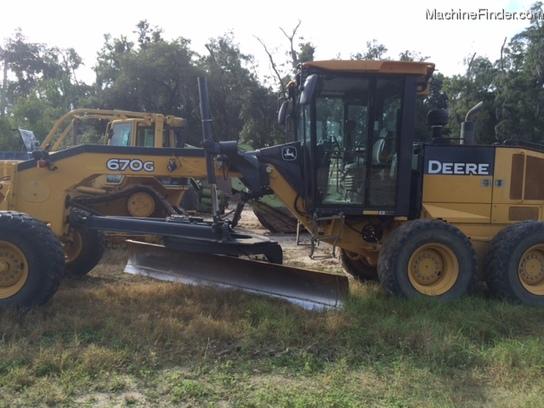 2009 john deere 670g motor grader john deere machinefinder for John deere motor grader parts