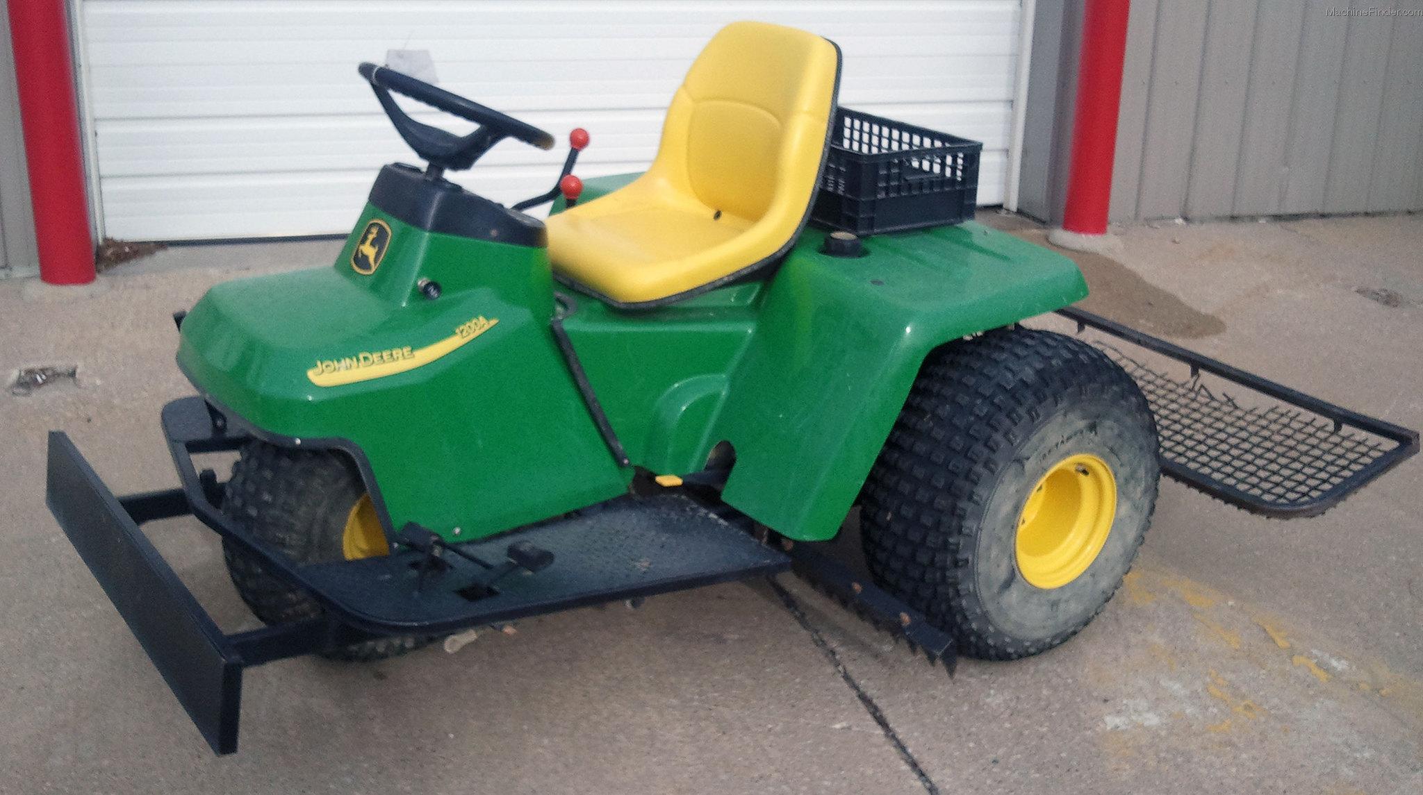 John Deere 1200a Golf  U0026 Turf Equipment
