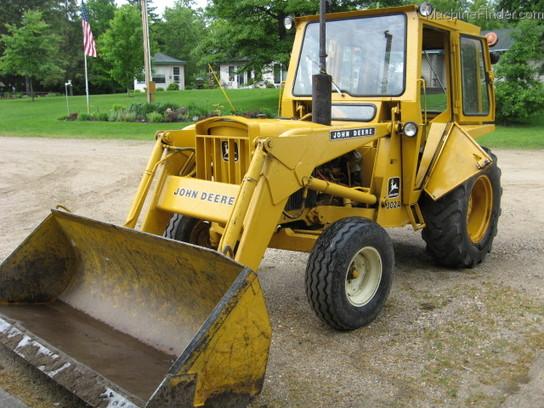 John Deere 300 Backhoe Parts : John deere tractor loaders machinefinder