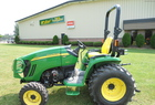 2011 John Deere 3320 with 72D & 300CX
