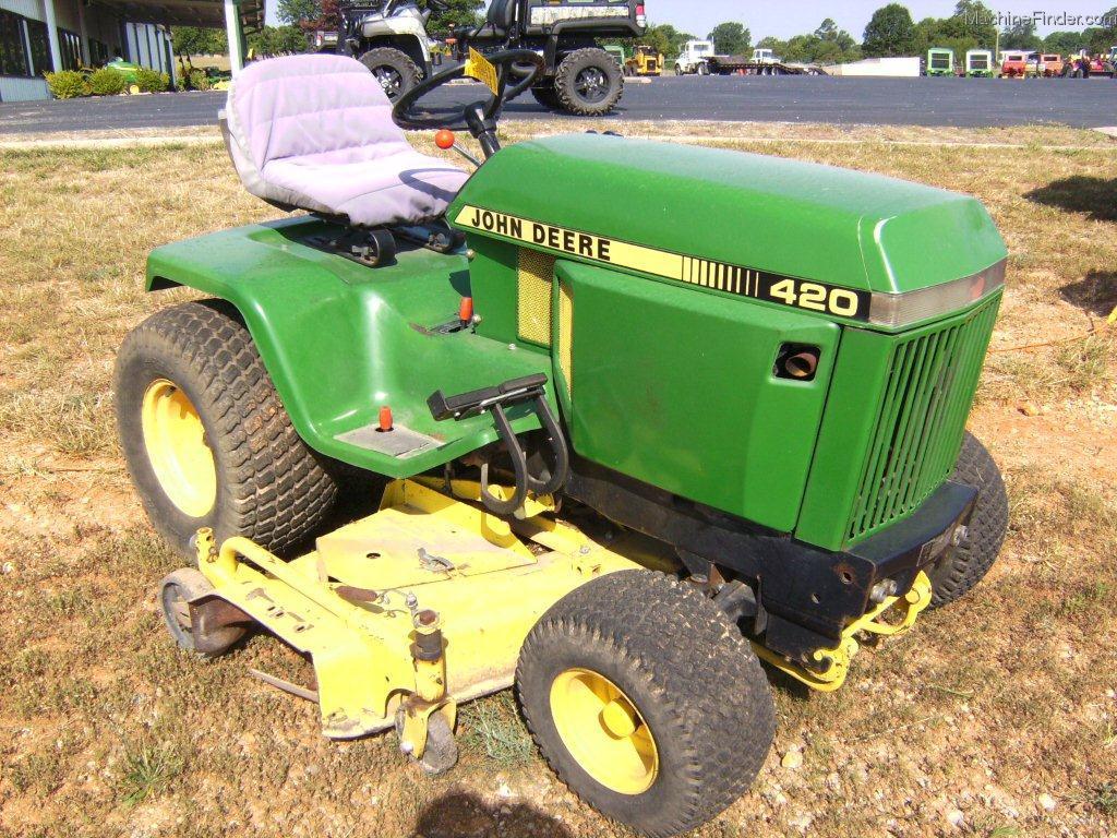 John Deere 420 Hydrostatic Transmission : John deere lawn garden and commercial mowing