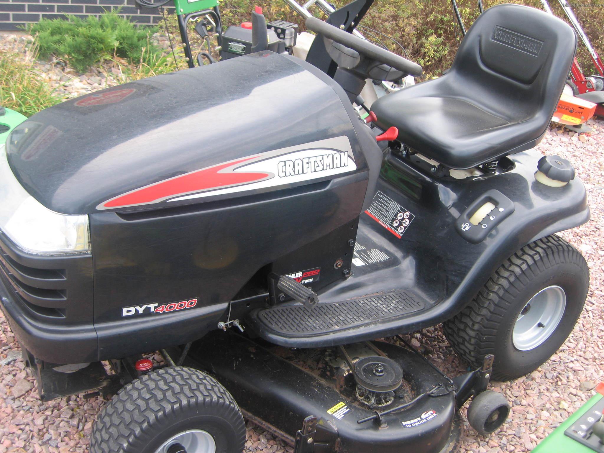 Craftsman 4000 Riding Lawn Mower : Tweet