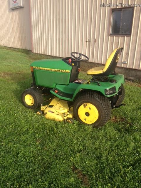 Lawn Tractor Hoods : John deere lawn garden and commercial mowing