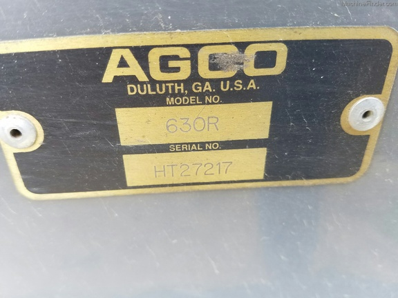 2011 Other AGCO 630r