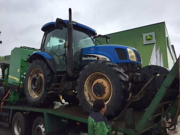 New Holland TS115 A