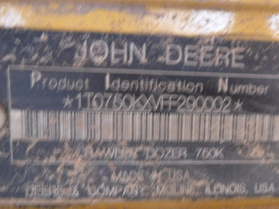Detail photo of 2016 John Deere 750K from Construction Equipment Guide