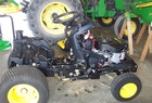 2007 John Deere X500 L&G tractor with 48X mower