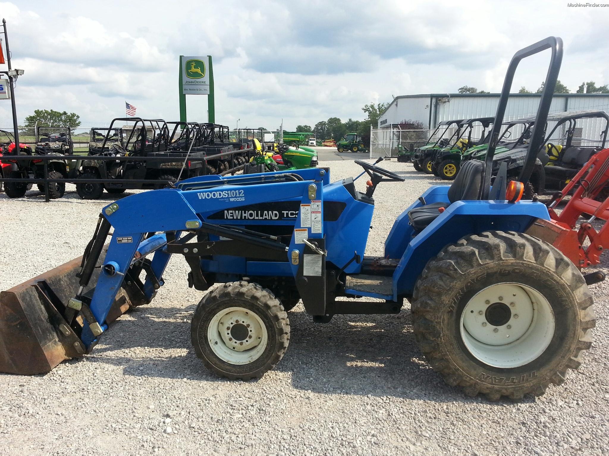 New Holland Compact Tractors Parts : New holland tc tractors compact hp john