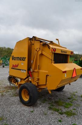 2009 Vermeer Rebel 5410 Hay Equipment Round Balers