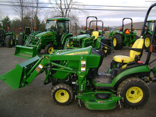 John Deere 1026r Attachments : John deere r