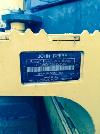 Detail photo of 2014 John Deere 850K from Construction Equipment Guide