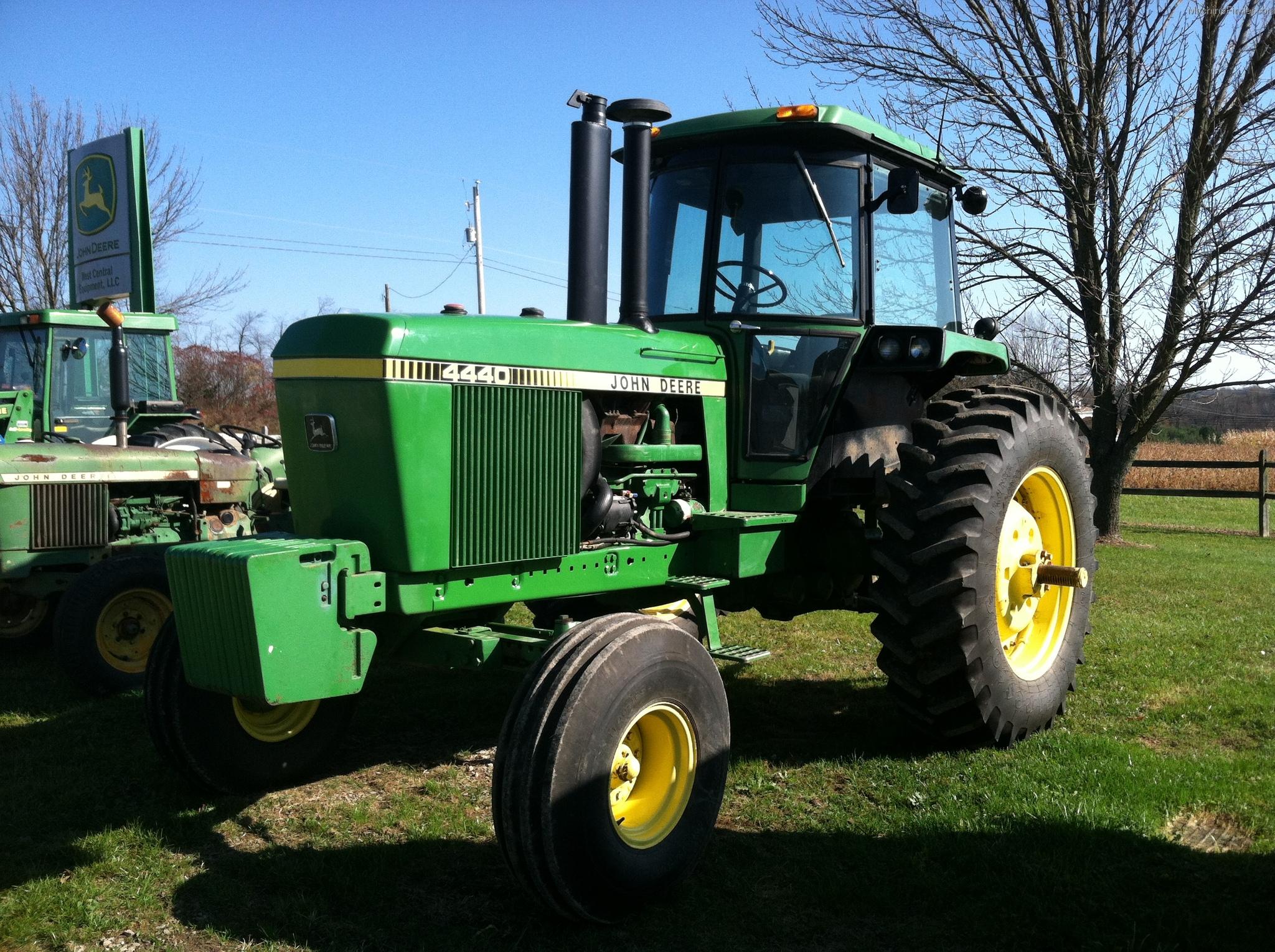 John Deere 4440 Rim : John deere tractors row crop hp