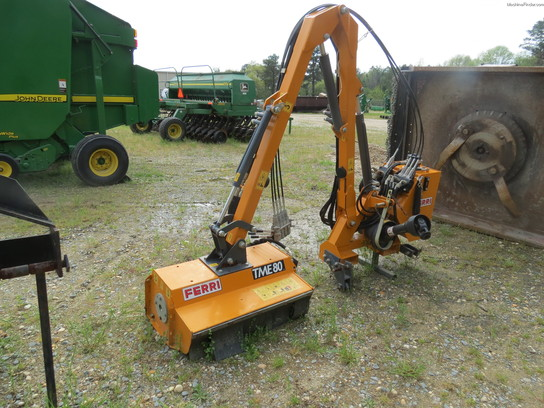 Rotary Boom Mowers For Compact Tractors : Other ta ferri head boom rotary cutters flail