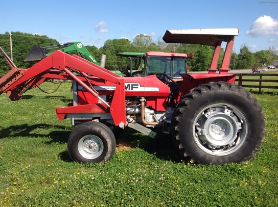 Massey Ferguson 285 Tractor Information : Massey ferguson tractors utility hp