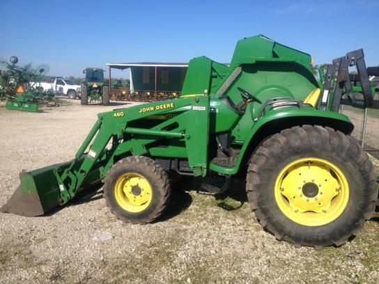 John Deere 4710 Compact Tractor : John deere compact utility tractors for sale