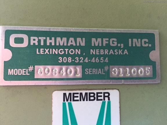 2014 Orthman 810 Scout