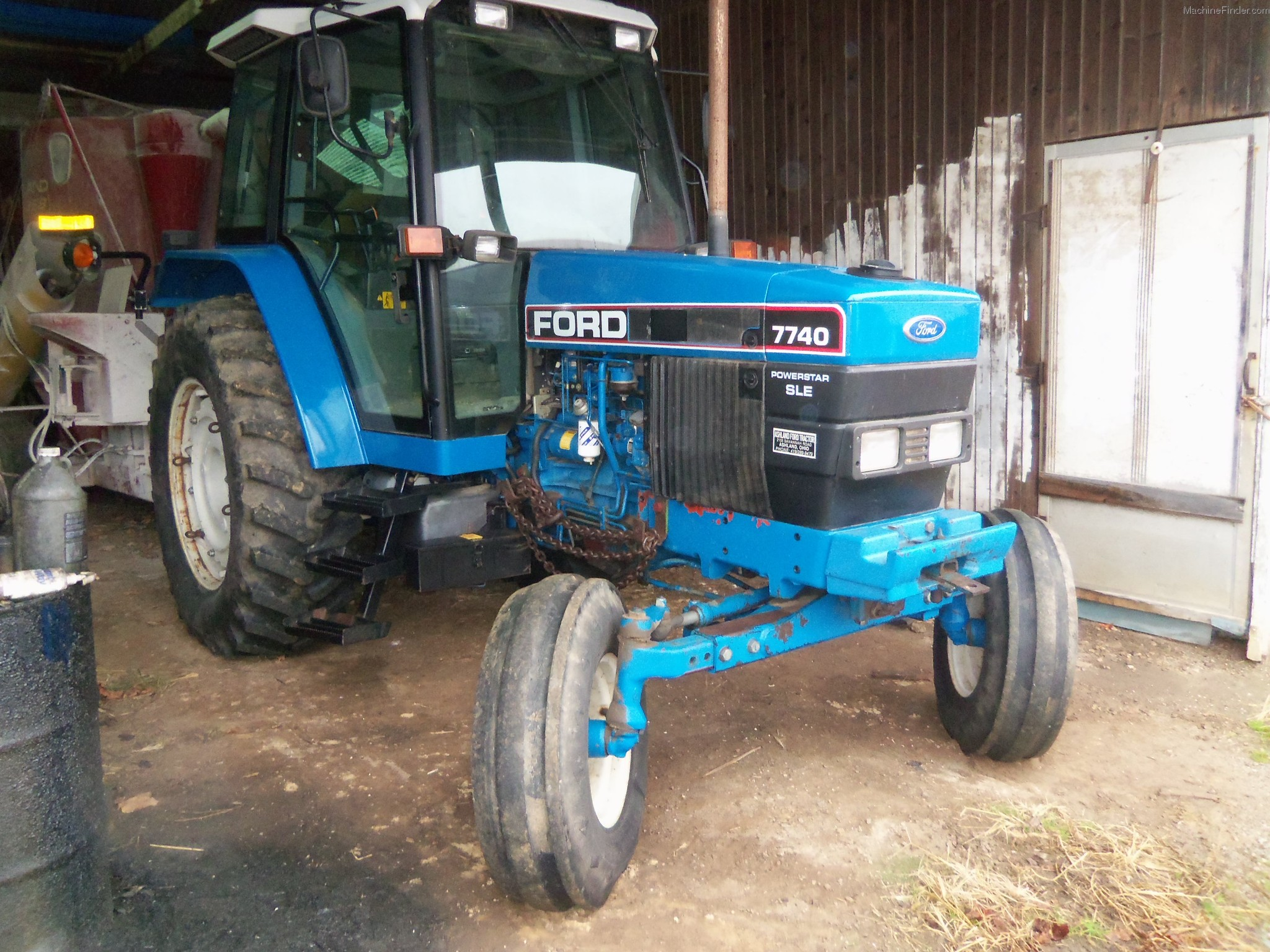 Ford Row Crop Tractors : Ford sle tractors row crop hp john