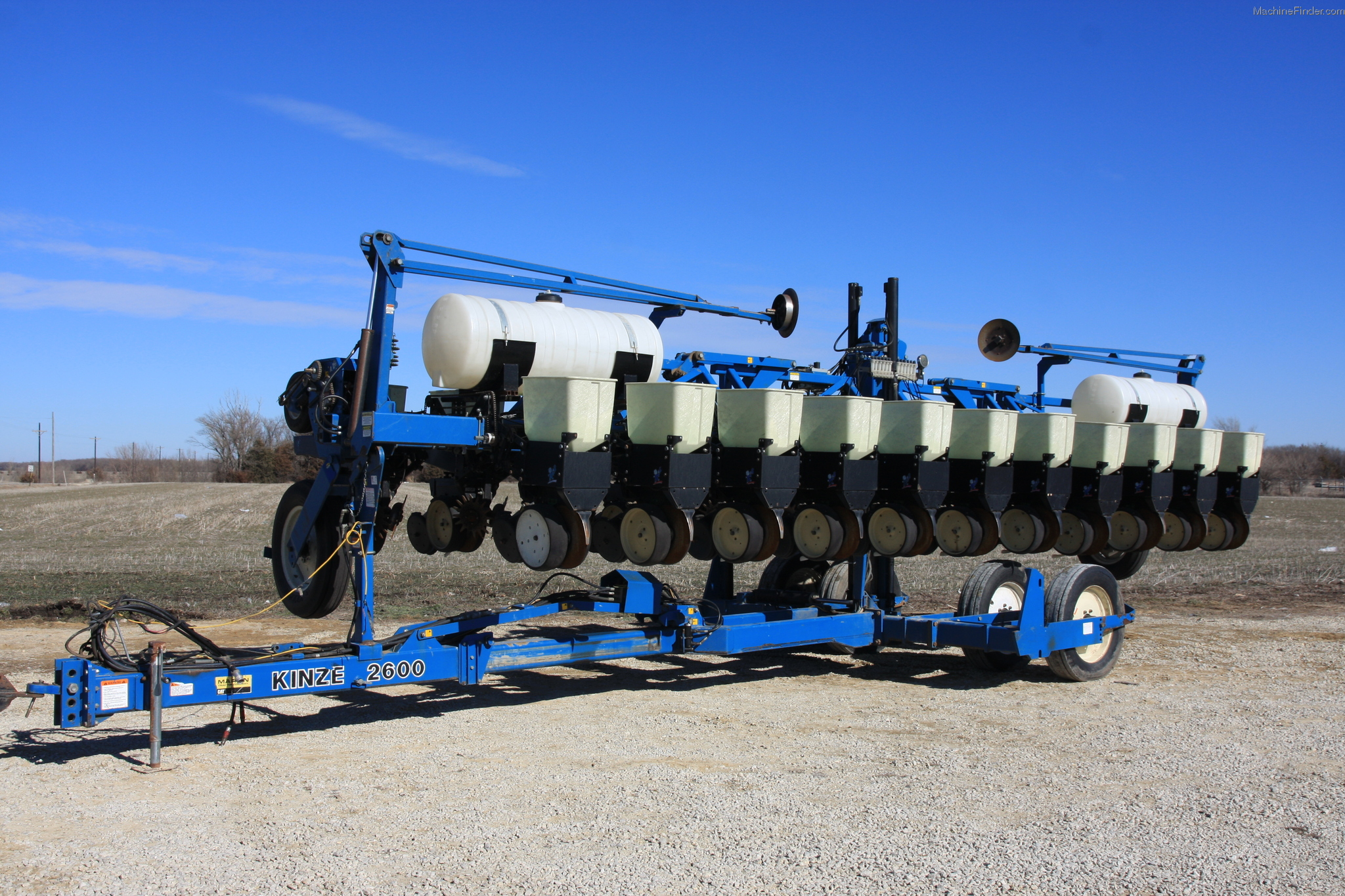 Manual for kinze 2600 planter