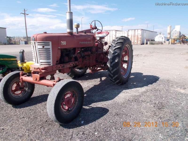 1958 International Tractor : International harvester tractors utility