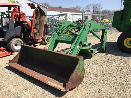 John Deere 740 Tractor : John deere loader tractor loaders