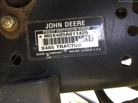 John Deere X485