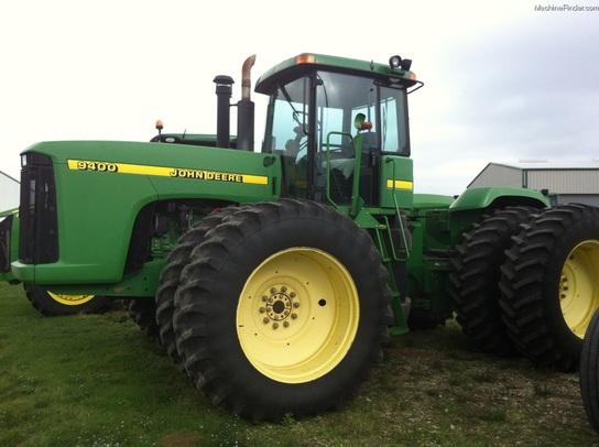 1997 John Deere 9400 Tractors Articulated 4wd John