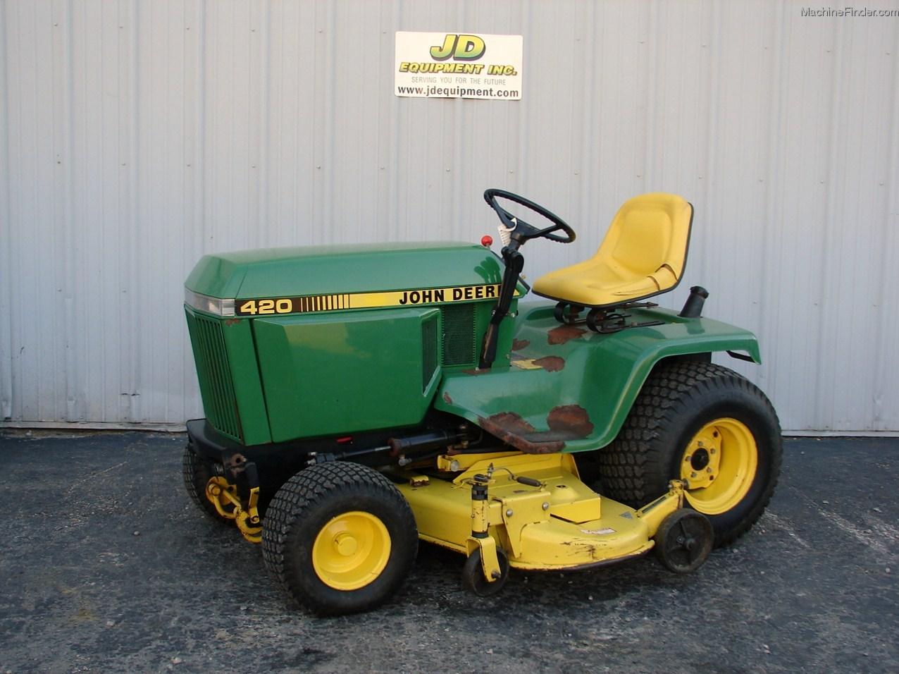 1988 John Deere 420 Lawn Garden And Commercial Mowing John Deere Machinefinder