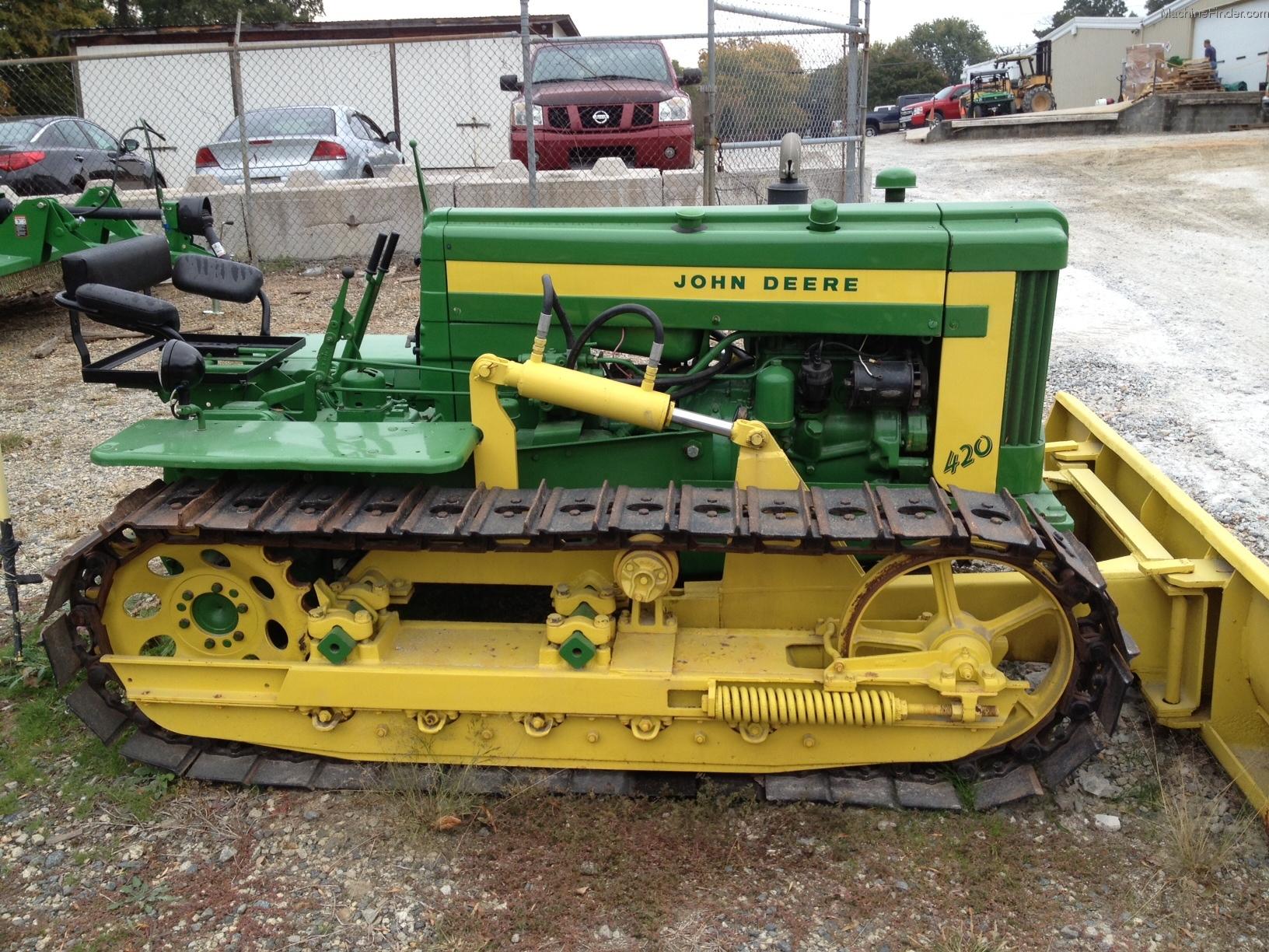 1957 John Deere 420 C Tractors Row Crop 100hp John Deere Machinefinder