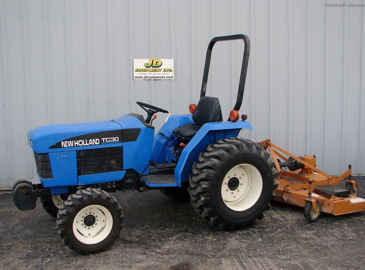 New Holland Compact Utility Tractor : New holland tc tractors compact hp john deere