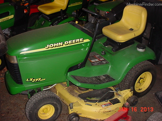 1999 john deere lx277 lawn garden and commercial mowing john deere machinefinder for Bairs lawn and garden