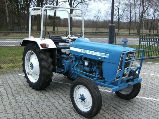 Ford 3600 Tractor Data : Ford tractors row crop hp john deere