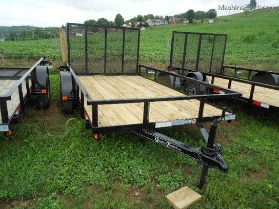 2012 Other QUALITY TRAILER 12ft X 77in LANDSCAPE
