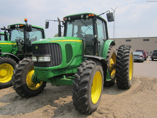 John Deere 4445 : John deere tractors row crop hp