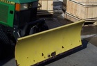 1996 John Deere 54 Front Blade with Quick-Hitch and angling, for 425-445-455