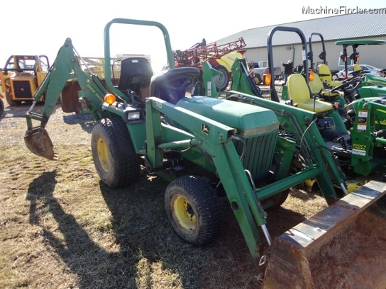 1996 john deere 755 tractors compact 1 40hp john. Black Bedroom Furniture Sets. Home Design Ideas