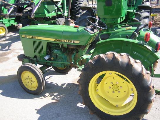 John Deere 850 Parts : John deere tractors compact hp
