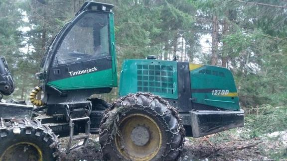 Timberjack 1270D
