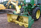 John Deere 666 3-Point Snowblower